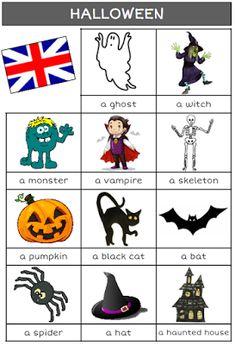 halloween, anglais, sorcière, CP, CE1, CE2, CM1, CM2, école, classe, poèmes, chanson, vocabulaire
