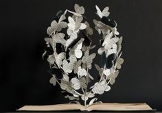 The Tree of Butterflies Book Art Book by MalenaValcarcel on Etsy
