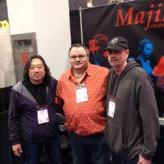 Mark meets the Majik Box fellers
