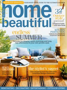 Home Beautiful February 2017 Cover Things Tropical Style House And