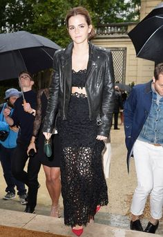 Emma Watson au défilé Valentino