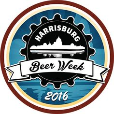 """While enjoying the week of celebration, be sure to unlock this years """"Harrisburg Beer Week (2016) badge! Check-in to any two (2) craft beers within a 30 mile radius of Harrisburg and it's your's. #Untappd - Drink Socially"""