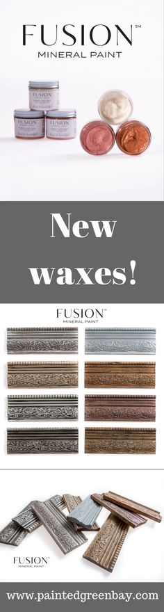 Say hello to Fusion Mineral Paint's new line of colored waxes. You can order yours at Painted. Furniture Painting Techniques, Paint Furniture, Painting Tips, Cool Furniture, Paint Stain, Paint Finishes, Chalk Paint, Paint Line, Mineral Paint