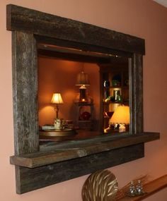 Custom Made Reclaimed Lumber Mirror For Any Room Of Your Home