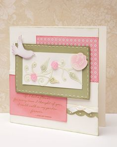 Spring card inspiration from #CTMH.