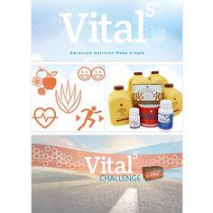 Forever Vital5 – nasze rozwiązanie do zdrowego odżywiania w jednym, prostym opakowaniu. Produkty zawarte w zestawie Vital5 zapewniają, że składniki odżywcze z naszej żywności, którą spożywamy, prawidłowo dostarczane są do wszystkich naszych komórek i tkanek tam gdzie są potrzebne, a odpady zostają wyeliminowane z organizmu.