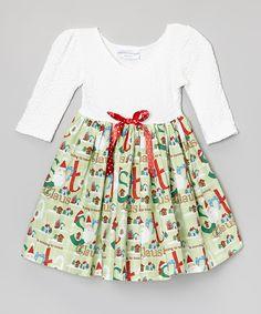Green Santa Dress - Infant & Toddler | zulily