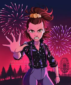 Eleven - Stranger Things by Arya-Aiedail on DeviantArt Stranger Things Tumblr, Watch Stranger Things, Stranger Things Season 3, Stranger Things Netflix, Starnger Things, Anime Demon, Human Art, Kawaii Drawings, Cute Couples