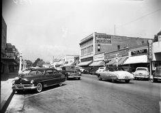 | Main Street, Upland, 1952