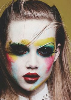 Holly Rose inColor Codesphotographed by Ben Hassett for Vogue Germany, January 2014