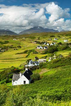 Tarskavaig in Summer. Sleat. Isle of Skye. Scotland.
