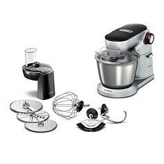 Bosch MUM9D33S11 Küchenmaschine Optimum, Edelstahl-Rührsc…