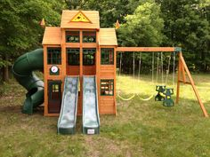 147 Best Gym And Play Sets Images In 2017 Backyard Playground