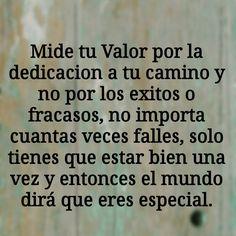 #valor #exito #fracaso