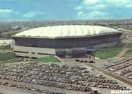 Pontiac Silverdome, saw many a Detroit Lions game here with my dad AND wrestlemania 3