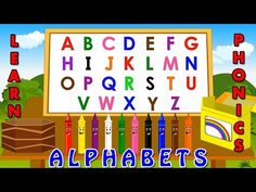 Learning alphabets for kids, Set the stage for the first and most important lesson for your kids. Have, fun while teaching alphabets with phonetics and the w. Kids Learning Alphabet, S Alphabet, Teaching The Alphabet, Alphabet For Kids, Learning Activities, English Abc, Primary English, Learn English, Phonetics For Kids