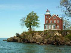 South Bass Island Lighthouse, South Bass Island, Ohio Lake Erie