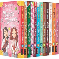 Complete Malory Towers Book Collection