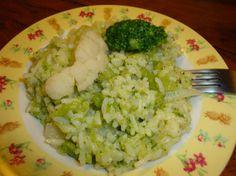 Salade de riz thaï au chou-fleur et aux brocolis au gingembre (Vegan)