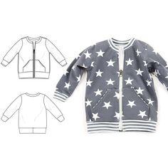 zip crew sweatshirt : 060