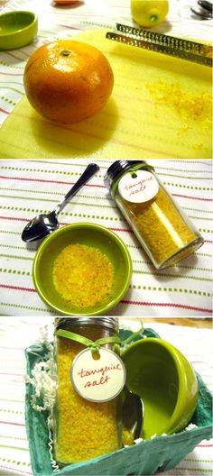 diy flavored sea salt. this website is for wedding favors, but i'm thinking christmas gifts?