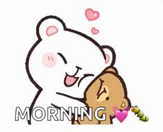 The perfect MilkAndMocha Kiss Hug Animated GIF for your conversation. Discover and Share the best GIFs on Tenor. Cute Cartoon Images, Cute Love Gif, Cute Love Pictures, Cute Cartoon Wallpapers, Good Morning Cartoon Images, Cute Good Morning Gif, Polar Bear Drawing, Cute Anime Cat, Cute Hug