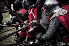 Order of the Boar, Harcourt Park Jousting. NZ v Australia Battle of the Nations, full-contact medieval foot combat.