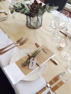 64 best Table Settings images on Pinterest | Wedding tables, Modern ...
