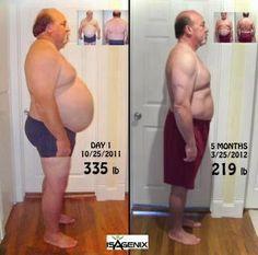 Scott Lost 100 Lbs in 5 months. http://bit.ly/HeAhwW