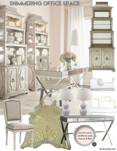 et the look: A shimmering office space