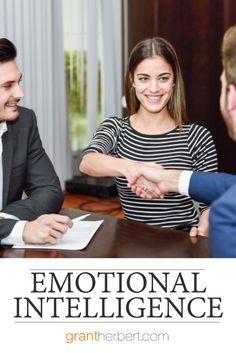 """In a high-IQ job pool, soft skills like discipline, drive, and empathy mark those who emerge as outstanding.""Daniel Goleman #emotionalintelligence #EQ #empathy"