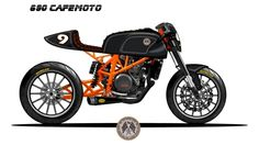 duke 390 cafe fighter - Google Search
