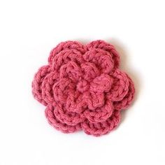 crochet flower...(Crocheting the Day Away)