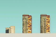 Modern Cityscapes by Simas Lin