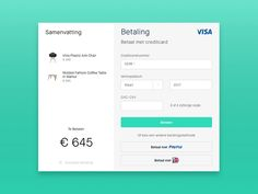 The Anatomy Of A Credit Card Form  User Experience Design User