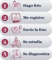 Diagnóstico inmediato online por dermatólogos expertos. Maraviloso #ejemplo