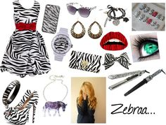 """""""zebre"""" by julie-oreo-de-niall on Polyvore"""