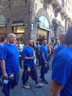 Calcio storico fiorentino Azzurri