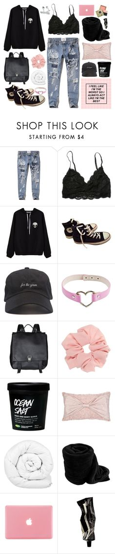 """Trust in my self-righteous svicide"" by necrolust ❤ liked on Polyvore featuring Abercrombie & Fitch, Converse, Proenza Schouler, Brinkhaus, Benefit and Aesop"