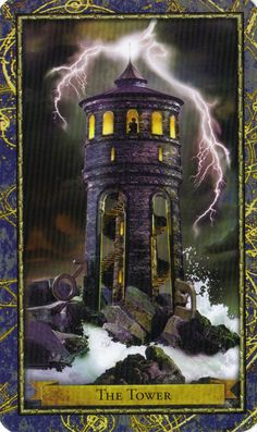The Wizards Tarot, created by Corrine Kenner and illustrated by John Blumen, is a CGI Tarot deck featuring the Harry Potter-like school of Madrake Academy. Tarot Card Decks, Tarot Cards, The Tower Tarot Card, Le Tarot, Tarot Major Arcana, Tarot Card Meanings, Tarot Readers, Oracle Cards, Illustration