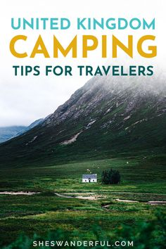Learn how you can save money and get off the beaten path by wild camping in England, Scotland and Wales! Wild camping in the UK is an unbeatable way to experience the countryside, but it's not legal everywhere. Click through to learn where to find the best wild camping in Scotland and England, as well as beginner wild camping tips. | Camping in Wales | Camping in Scotland | UK camping tips | Wild camping spots UK Wales Camping, Camping Scotland, Scotland Travel Guide, Travel Tips For Europe, Italy Travel Tips, Travel And Tourism, European Road Trip, Road Trip Europe, Camping Spots
