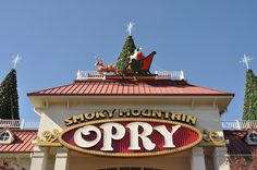 The Smoky Mountain Opry is one of the best places to hear live music in Pigeon Forge.