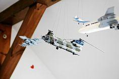 Modele samolotów to nie tylko wyraz zainteresowań Ignacego,  ale i efektowna…
