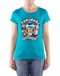Toki Doki Tee- Size Small  from: http://www.tokidoki.it/shop/apparel/womens/milk-is-power-tee.html ($24)