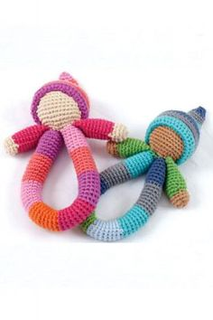A super fun ring rattle perfect for babies little hands. This lovely pixie ring rattle is hand made in crochet (one supplied) Crochet Baby Toys, Knit Crochet, Knitted Baby, Loom Knitting, Baby Knitting, Diy Bebe, Newborn Toys, Baby Comforter, Baby Rattle