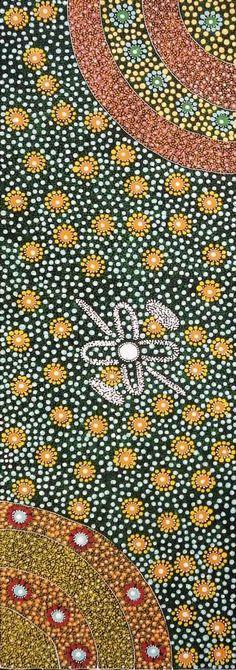 Wonderful and intricate Aboriginal art from Maggie Bird (Alpar Story, 2013)
