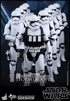 Star Wars First Order Heavy Gunner Stormtrooper by Hot Toys