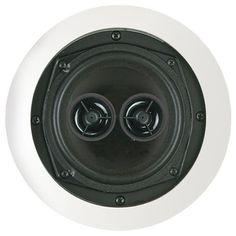 "5.25"" Dual Voice Coil Stereo Ceiling Speaker - BIC AMERICA - MSR5D"