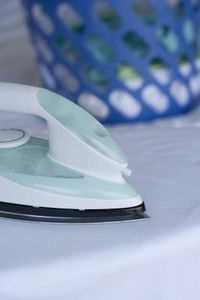 How to Clean an Iron With Burnt Fabric on It