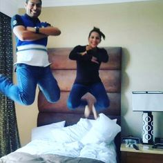 Look out for synchronised bed jumping at the rio olympics this year!  thanks to @crewram15 for this epic shot! #hotel#hotelroom#hotellife#bouncybed#hotelbed#hotelroom#hotelfun#crewlife#layover#jumpingonbed#hotelbedjumping#airport#vacation#holidays#competition#cheerleader #cheer#prizes#giveaway#mattress#jump#bounce#bouncy#trampoline#hoteltrampoline#girl#boy#blondie#bedtest#bedjumping by hotelbedjumping_community